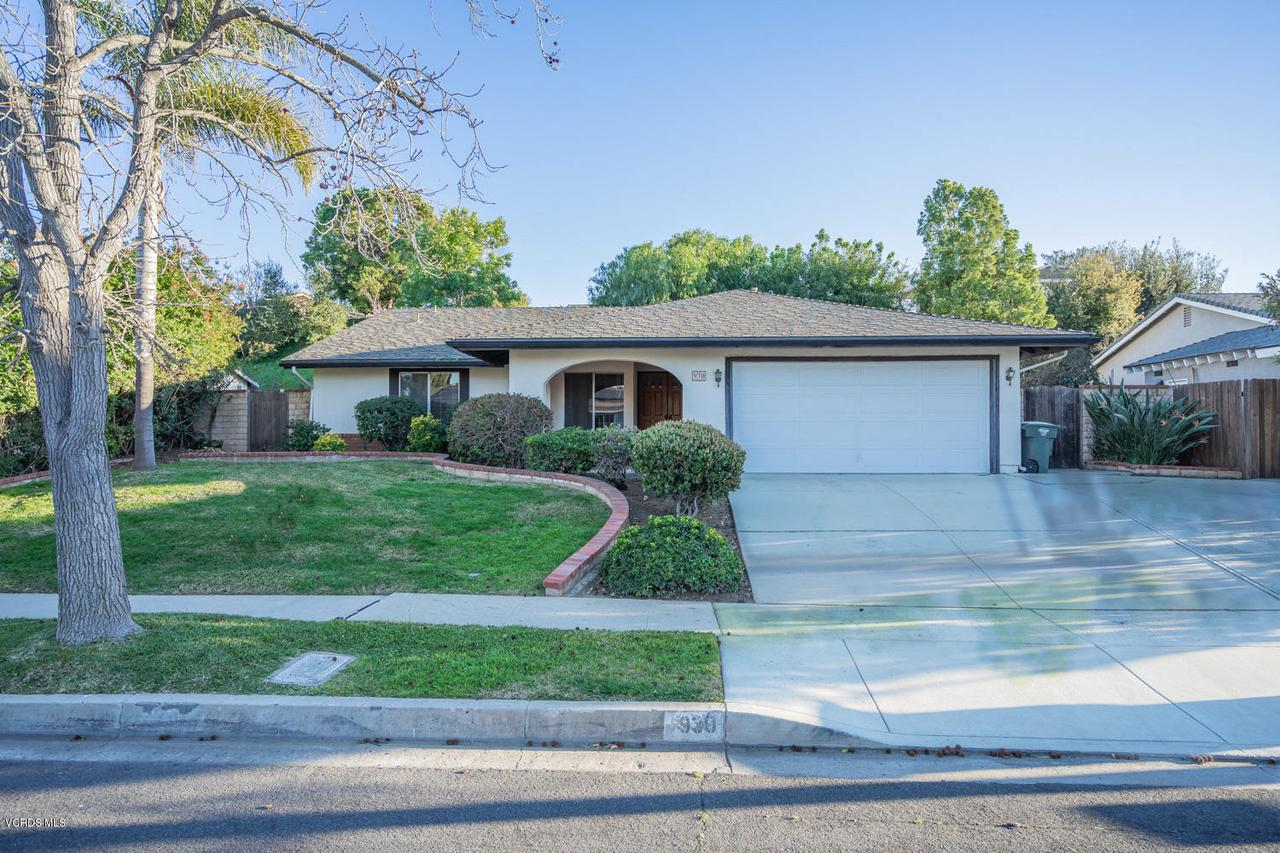 930 BALLINA, Thousand Oaks, CA 91320 - Font edit
