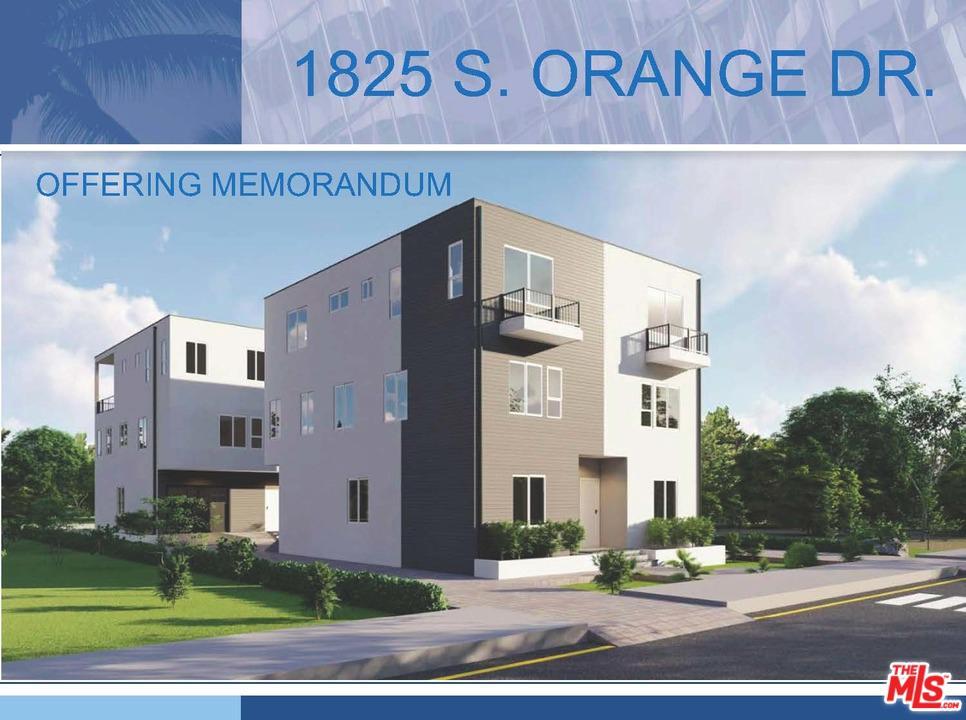 1825 ORANGE, Los Angeles (City), CA 90019