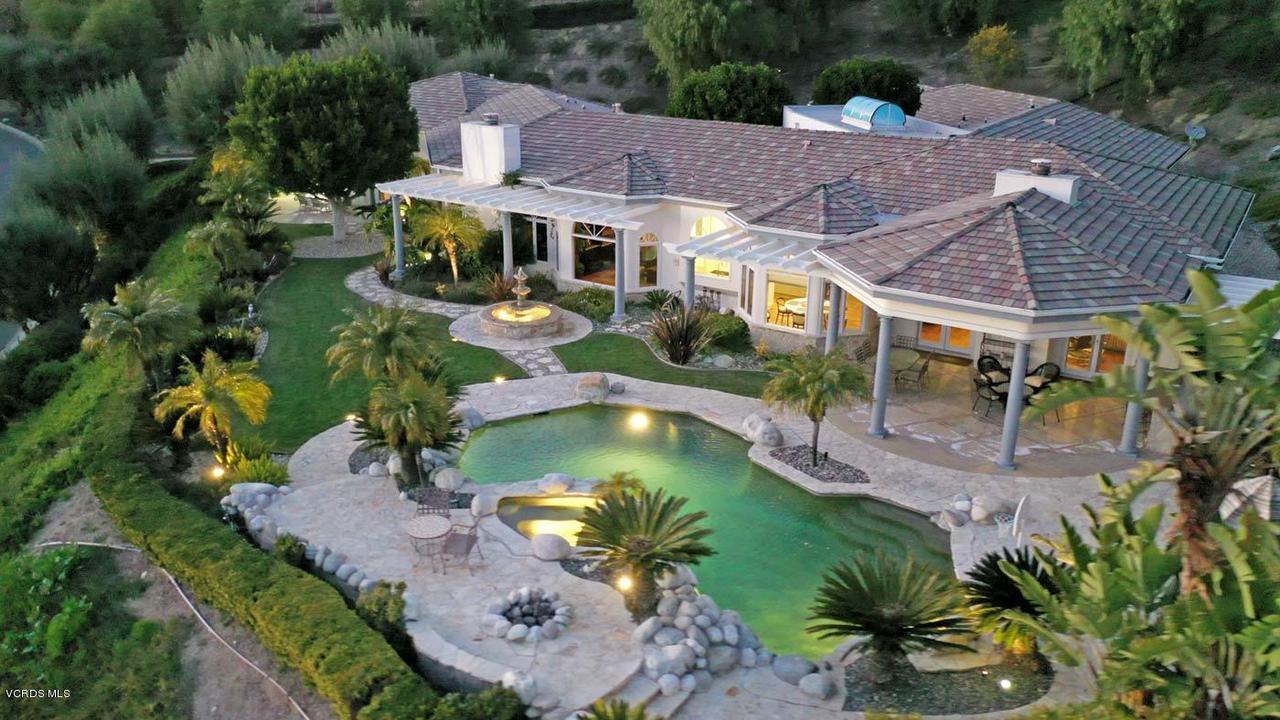 1266 HERITAGE, Westlake Village, CA 91362 - 1266-heritage-pl-aerial-twilight-2