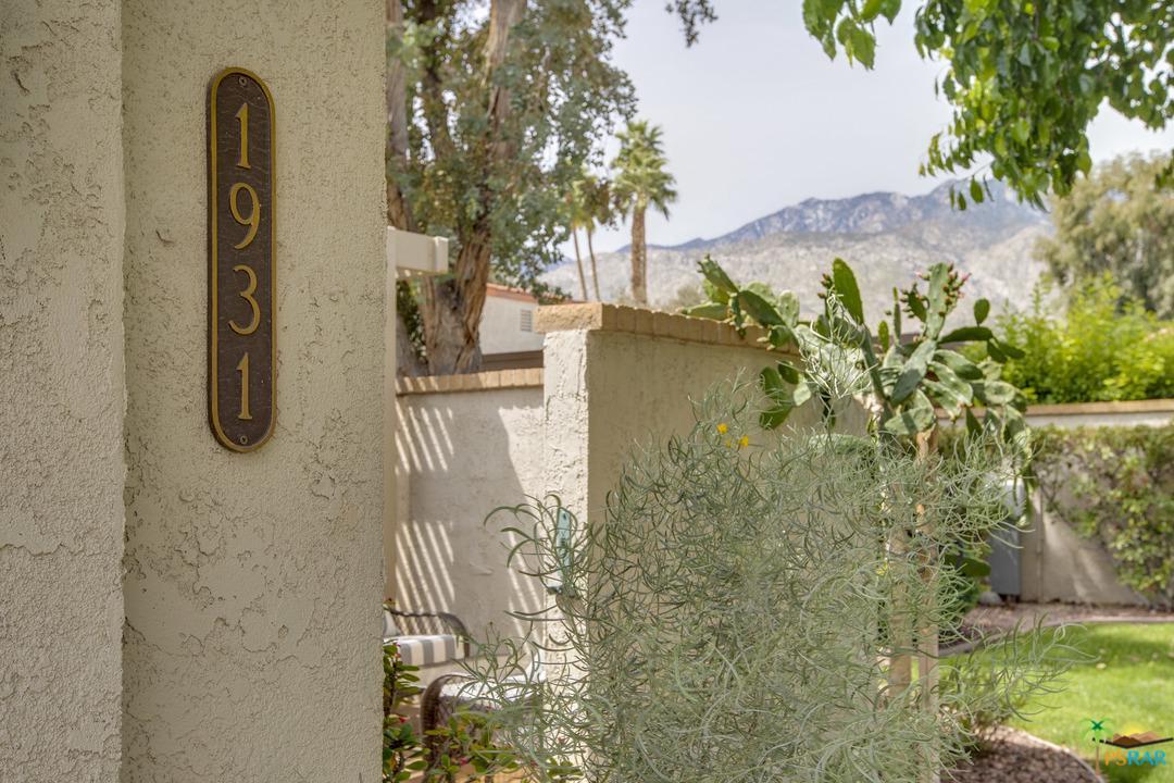 1931 PASEO PELOTA, Palm Springs, CA 92262