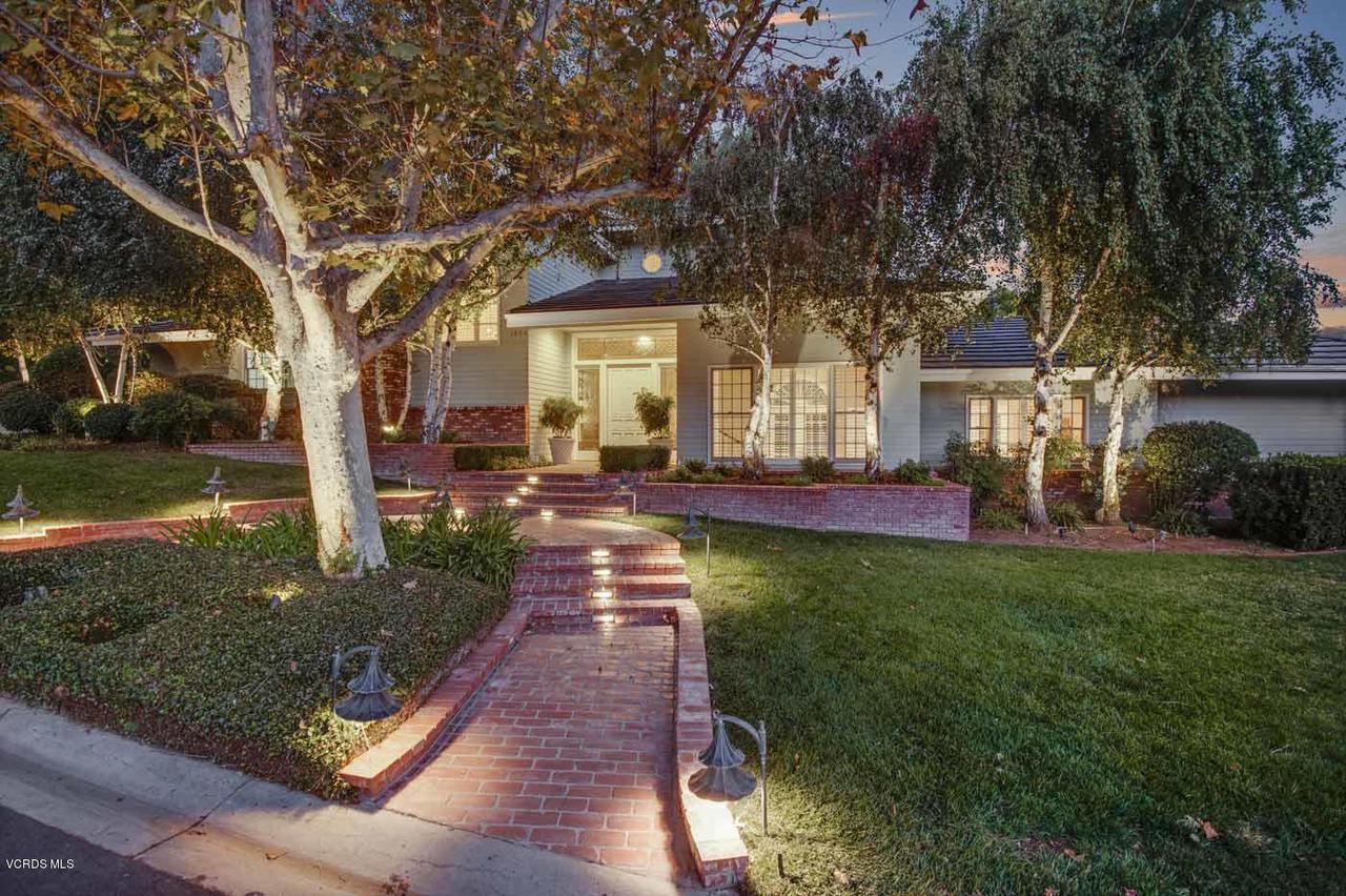 1624 LARKFIELD, Westlake Village, CA 91362 - 1624-larkfield-ave-frontyard-twilight-2