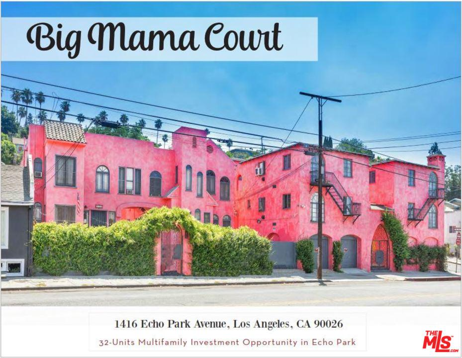 Property for sale at 1416 ECHO PARK AVE, Los Angeles,  CA 90026