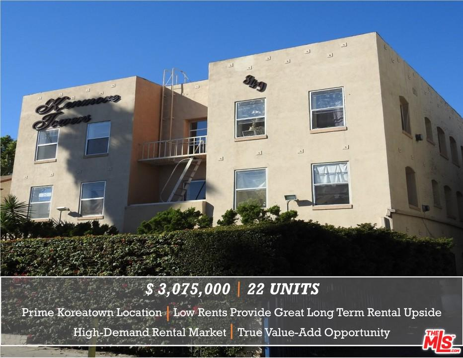 Property for sale at 849 S KENMORE AVE, Los Angeles,  CA 90005