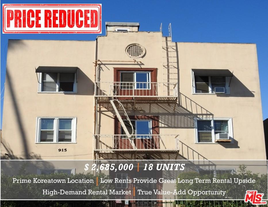Property for sale at 915 S KENMORE AVE, Los Angeles,  CA 90006