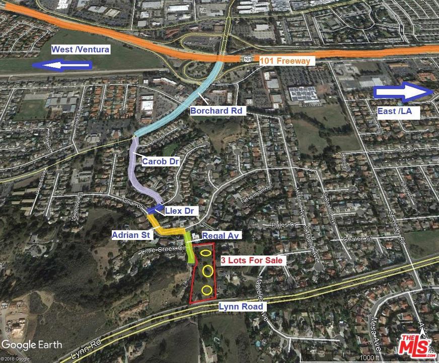 0 South REGAL Avenue Newbury Park, CA 91320