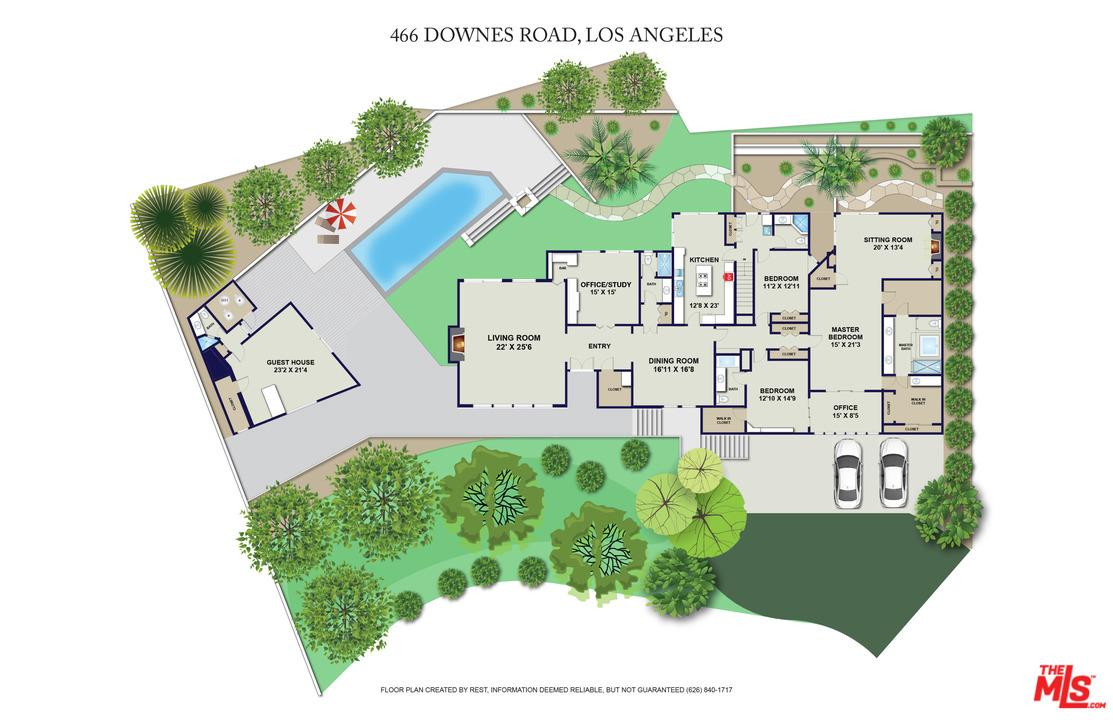 466 DOWNES Road Los Angeles (City), CA 90049
